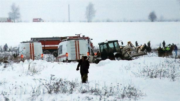 An-148 gặp nạn: Cảm biến áp lực toàn phần bị đóng băng