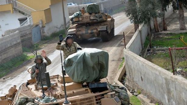 Thổ điều tăng mạnh hơn Leopard 2A4 quyết chiến Afrin