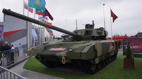 Siêu tăng Armata trấn giữ cửa ngõ Moscow