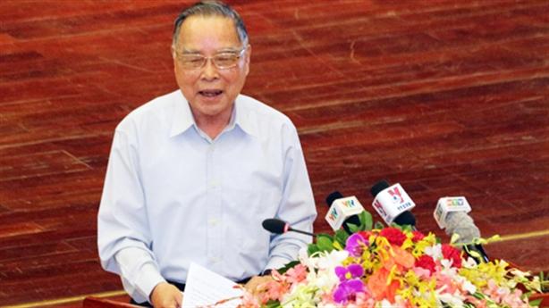 Nguyên Thủ tướng Phan Văn Khải đang nằm viện