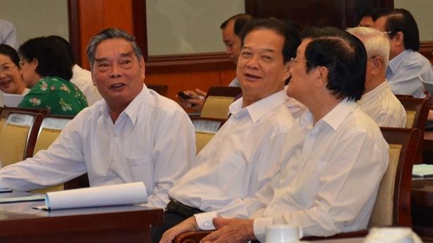 Ông Nguyễn Tấn Dũng dự hội nghị cơ chế đặc thù TP.HCM