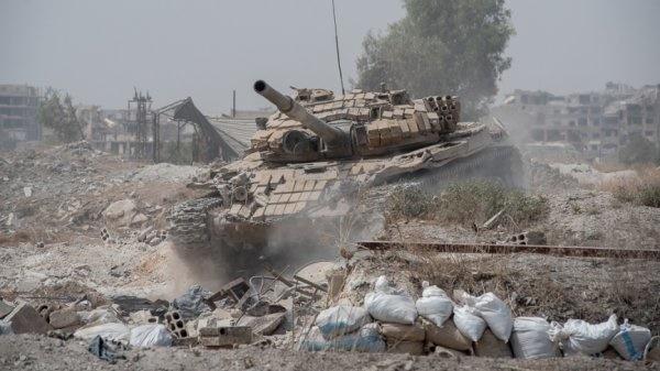 Tình hình nguy hiểm ở Đông Ghouta