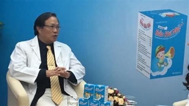 Cách chữa viêm hô hấp ở trẻ bác sỹ khuyên dùng