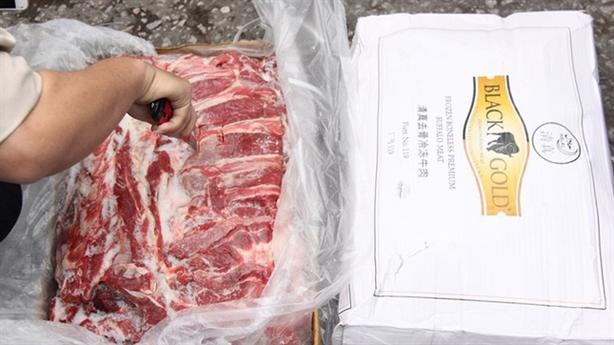 Bắt 170 tấn thịt trâu Trung Quốc: Quái đản siêu rẻ
