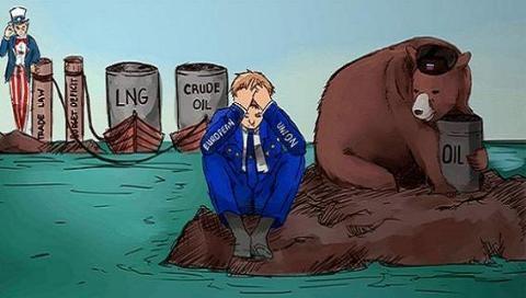 Mỹ, EU vẫn không thoát nổi Nga