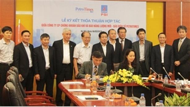 CT CPCK Dầu khí ký kết hợp tác với Báo ĐT Petrotimes