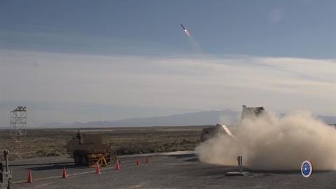 Hệ thống phòng không phóng loạt của Mỹ chuyên săn UAV