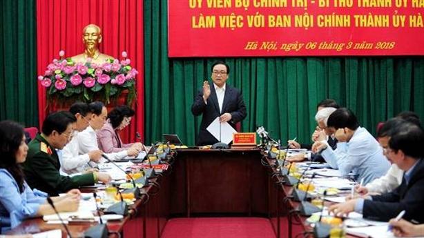 Hà Nội quyết tâm khoanh vùng có nguy cơ tham nhũng