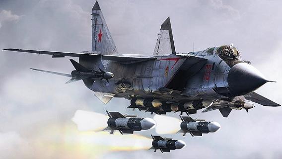MiG-31 mang tên lửa Kinzhal là tiêm kích đi trước thời đại