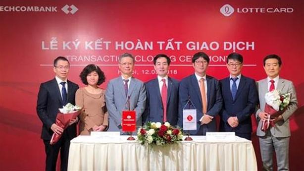 Techcombank hoàn tất chuyển nhượng TechcomFinance cho Lotte
