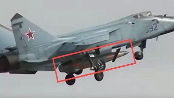 Tên lửa siêu thanh Kh-47M2 Kinzhal: 'Tử thần' Iskander dưới bụng MiG-31