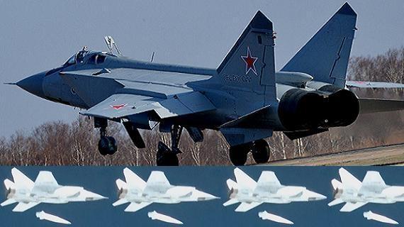 Song sát MiG-31 và Kinzhal: 'Chó săn cáo bằng Dao găm'