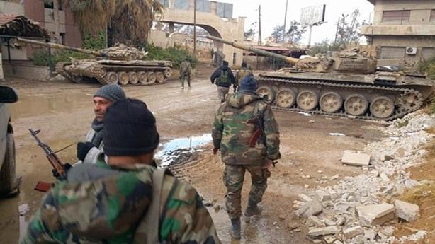 SAA choáng trước đòn hiểm chia lửa tại Đông Ghouta
