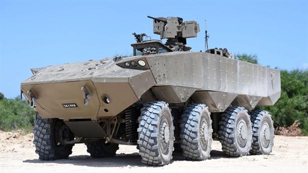 Israel mua xe bọc thép chặn đòn tên lửa chống tăng