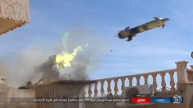 Phiến quân tung đòn hiểm diệt gọn cặp trọng pháo của SAA