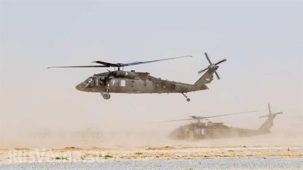 Chứng minh trực thăng Mỹ cứu 4 chỉ huy IS
