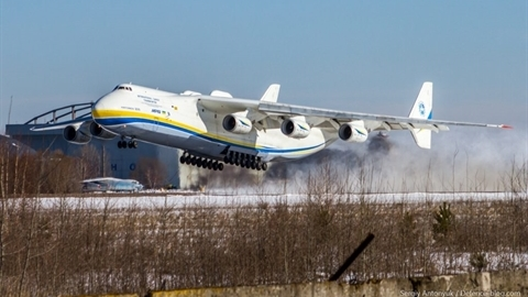 Máy bay duy nhất trên thế giới của Ukraine tái xuất