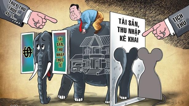 Đánh thuế tài sản bất minh như báu vật đào được?