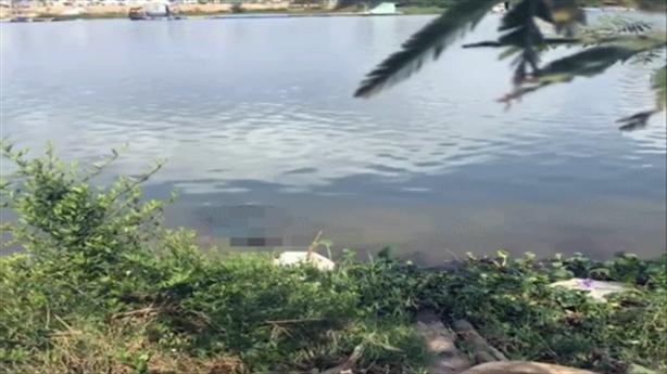 Nam thanh niên chết bất thường bên bờ sông Cẩm Lệ