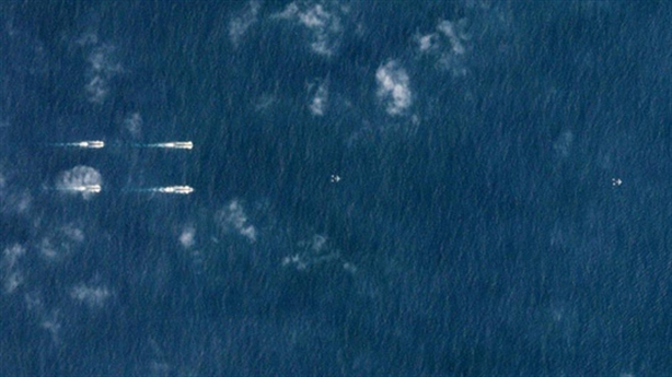Reuters: Tàu Liêu Ninh tham gia tập trận ở Biển Đông