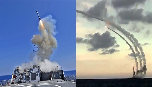 Nga triển khai tên lửa hành trình trên mọi hướng