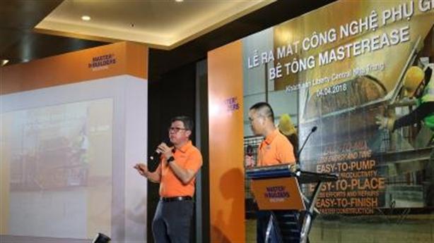 BASF giới thiệu sản phẩm MasterEase® tại Nha Trang