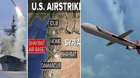Mỹ phóng Tomahawk tấn công Syria vào 20h00-22h00 tối nay?