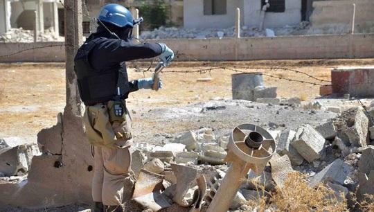 OPCW đến Syria bới gạch vụn điều tra hóa học?
