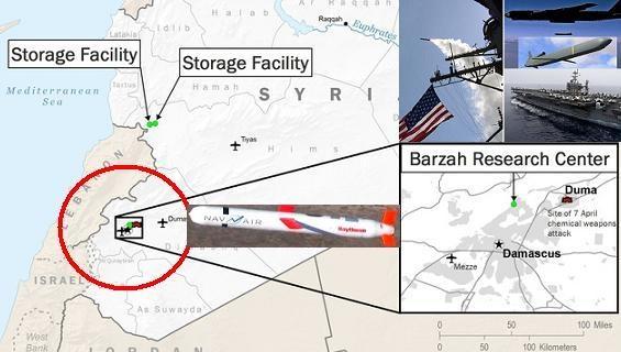 76 quả Tomahawk đánh Trung tâm Barzah: Giấu bí mật ghê gớm?