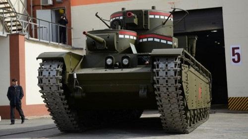 Nga hồi sinh xe tăng 5 nòng pháo