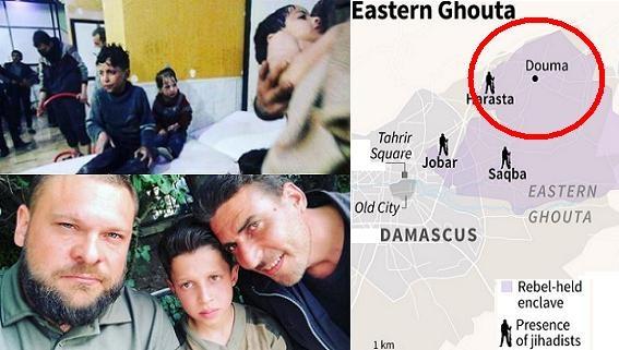 Mỹ sẽ chặn nhân chứng Douma kể sự thật ở The Huage?