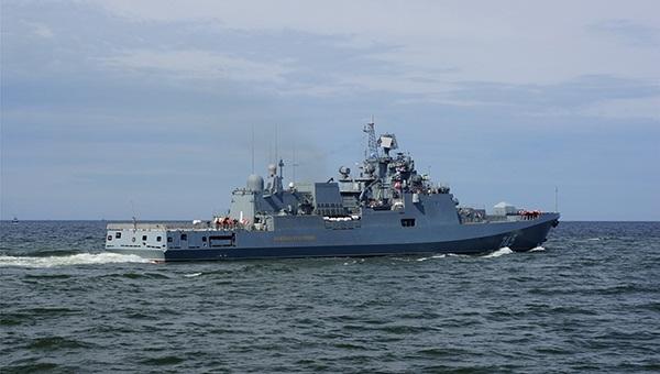 Tàu không thể đánh chìm Nga nã đạn trên Địa Trung Hải