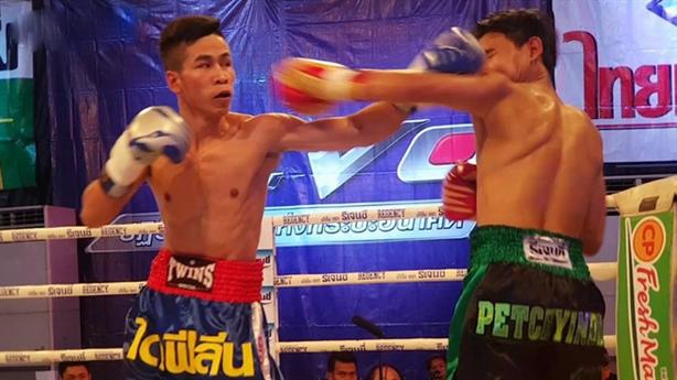 Võ sĩ Việt hạ knock-out nhà vô địch quyền anh Thái Lan