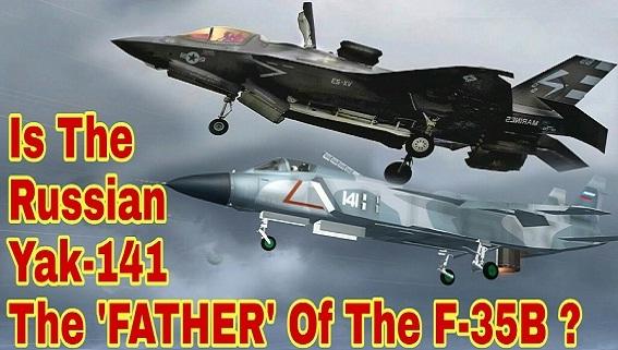 F-35B Mỹ thành công nhờ Yak-141 Liên Xô?