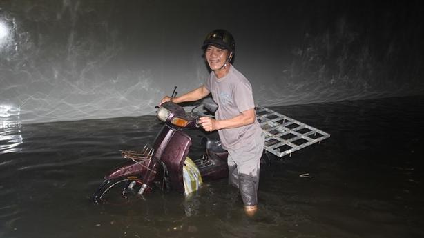 Hầm chui trăm tỷ Đà Nẵng ngập lần hai: Do máy bơm