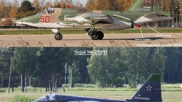 Su- 25SM3 đến Syria gây khiếp đảm