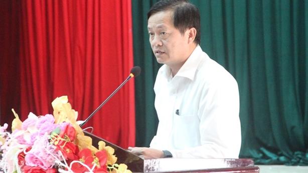 Đà Nẵng kỷ luật một Chủ tịch quận giao đất sai