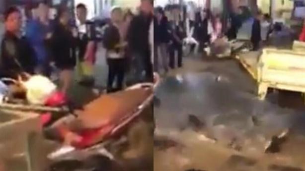 Cán bộ Sa Pa đập bể cá của dân: 'Nhắc không được'