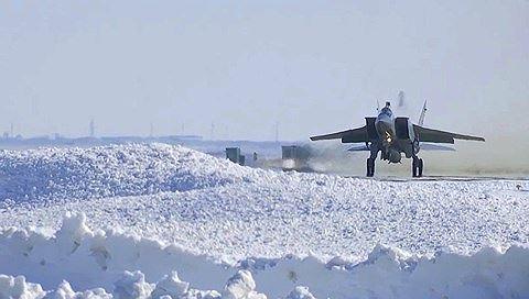 10 chiếc MiG-31 mang dao găm Kinzhal trực chiến