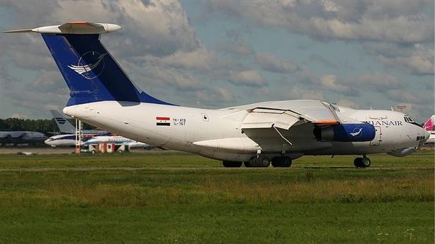 Il-76 Syria bị nghi chở vũ khí từ Iran về nước