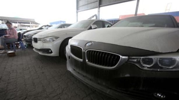 256 xe ôtô BMW nằm cảng Cái Mép, không ai đến nhận