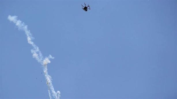 Clip: UAV Israel bị người Palestin bắn rụng