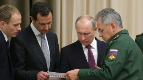 Xu thế tất thắng của chiến dịch tất tay Syria