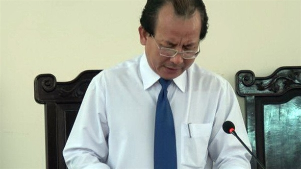 Thẩm phán xử Nguyễn Khắc Thủy: 'Tôi hoàn toàn trong sạch'