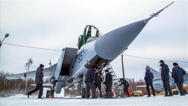 MiG-31 thành ngọn đuốc sau khi thử sức với Kinzhal?