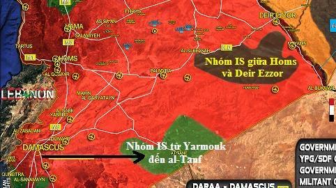 Nga-Syria điều ngàn khủng bố IS đến căn cứ al-Tanf của Mỹ