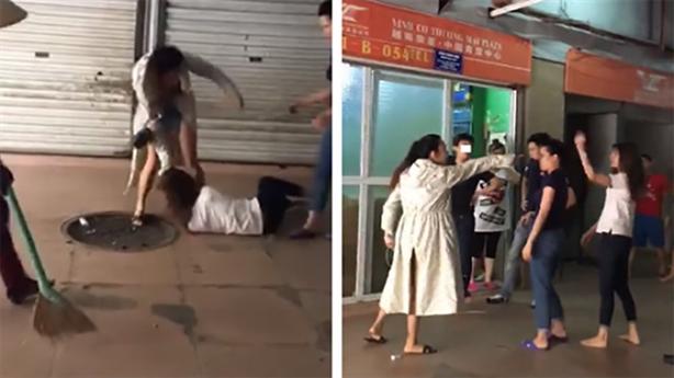 Người mới hành hung vợ cũ: Chồng chở nhân tình đến đánh
