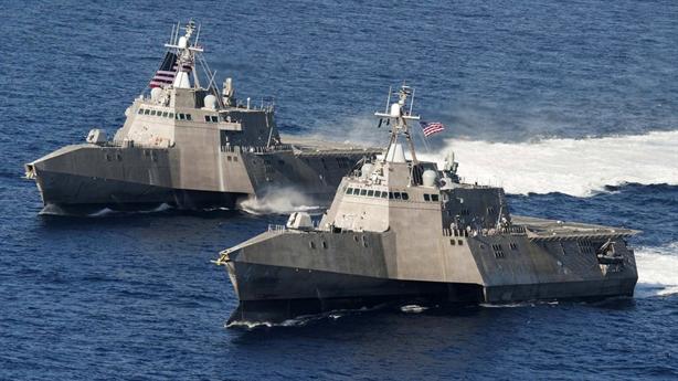 Siêu hạm Mỹ chính thức dựa vào tên lửa ngoại