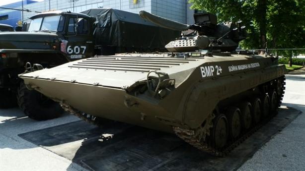 Xe BMP-1 của Ukraine có thể biến hình theo nhiệm vụ