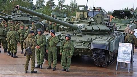 Nga không nhắc lỗi khi T-80BVM được đưa đến Bắc Cực